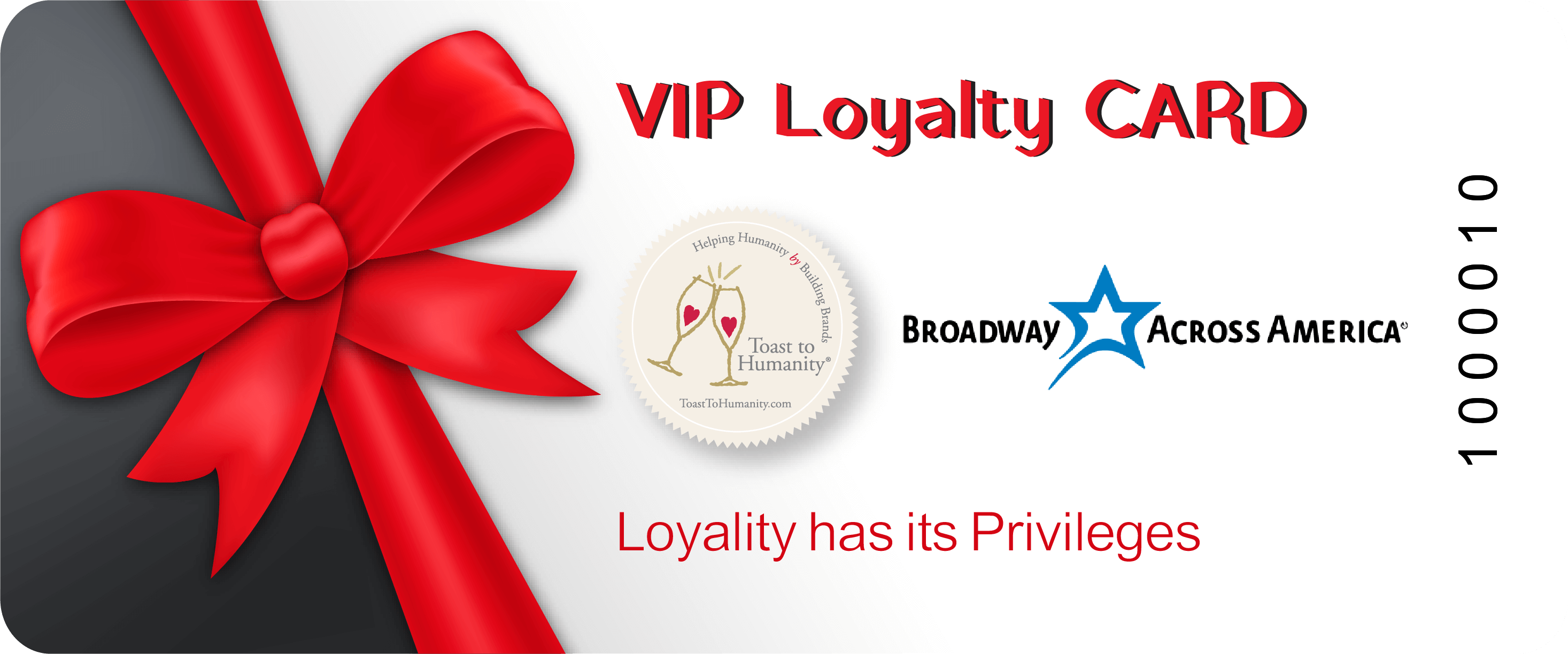 vip loyalty card